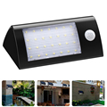 Led Solar Light Waterproof Solar 28 LED Garden Light Dim/Pir Sensor Wall Lamp Cool White Auto 3Modes For Outdoor Fence Yard Roof