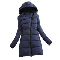Wadded Clothing Female 2016 New Women S Winter Jacket Down Cotton Jacket Slim Parkas Ladies Coats