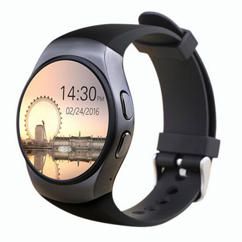 KW18 Watch IPS Round Touch Screen Watch With Heart Rate Monitortch All Compatible Wholesale High Quality