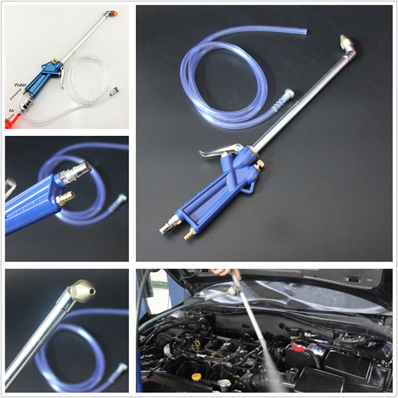 Image 4 - Air Pressure Washing Spray Cleaner Dust Oil Car Engine Warehouse Clean Tool-in Car Stickers from Automobiles & Motorcycles
