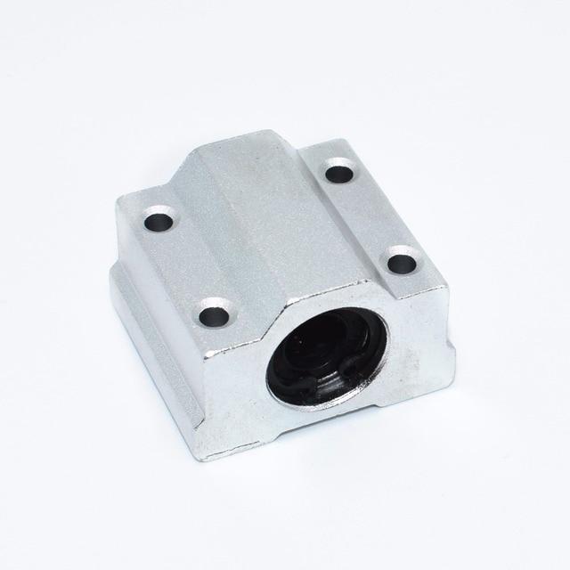 10pcs 3D printer SC8UU SCS8UU 8mm Linear Motion Ball Bearing block with LM8UU bush Slide Linear Shaft for CNC