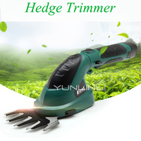 Small Multi function Lithium Battery Rechargeable Weeding Shear Electric Household Hedge Trimmer Pruning Mower ET1511c