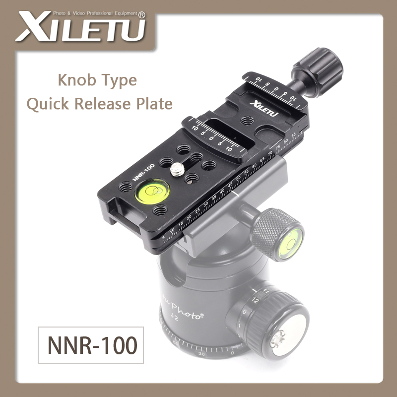 XIELTU NNR-100 Lengthen Camera Mounting Bracket Quick Release Plate For Digital Camera Arca Swiss Tripod Ball Head width 38mm
