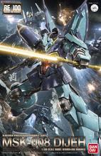 Bandai Gundam RE 1/100 RE 004 Dijeh MSK 008 costume Mobile assembler des maquettes figurines jouets en plastique