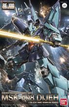 بانداي Gundam RE 1/100 RE 004 Dijeh MSK 008 البدلة المتنقلة تجميع نموذج مجموعات عمل أرقام نموذج اللعب البلاستيكية