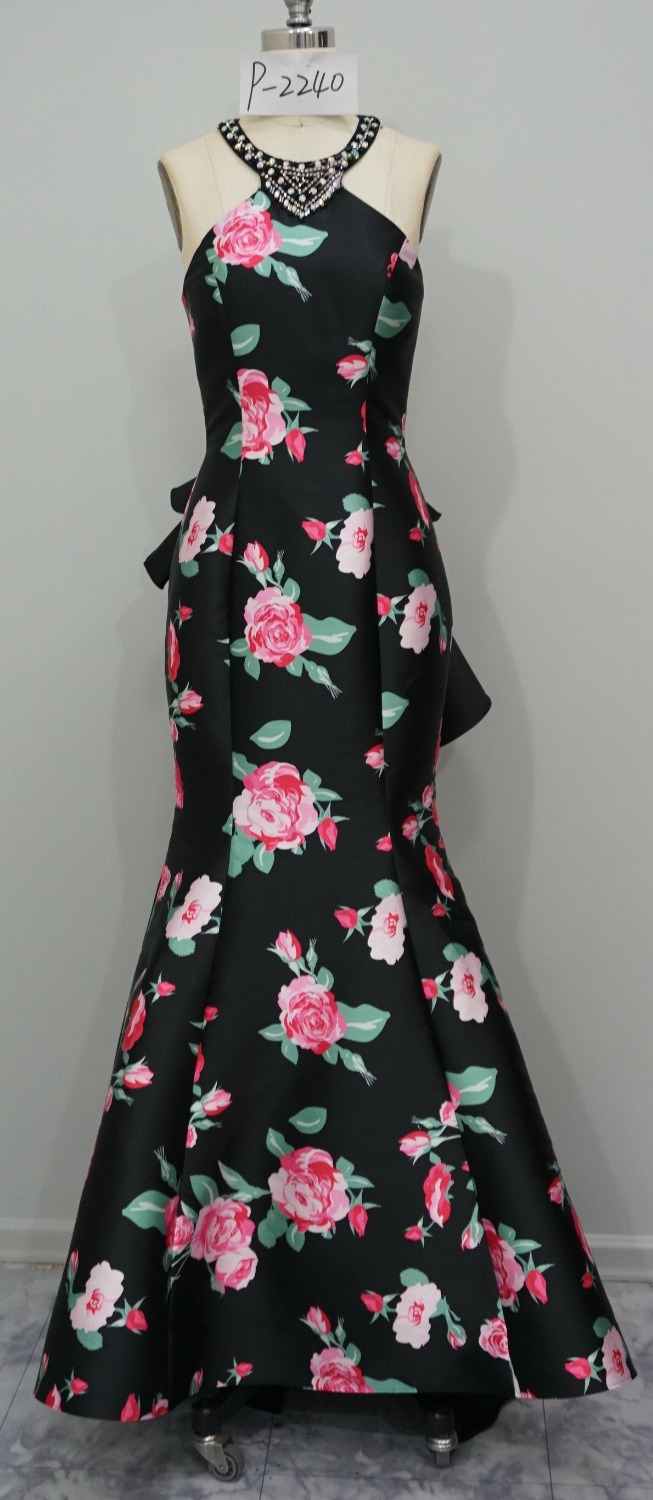 Rose Pattern Dress Simple Inspiration