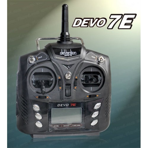 ФОТО Walkera Devention Devo7E 2.4Ghz 7ch Transmitter with RX601