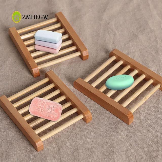 New Fahsion Bathroom Products Natural Wood Soap Tray Holder Dish ...