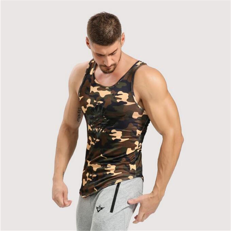 2017 Mens   Tank     Tops   Shirt,Bodybuilding Equipment Fitness Men's Golds Stringer   Tank     Top   Brand Clothes