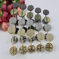 Shallow gold dumbbell barbell diy bag luggage accessories bags wheel buckle