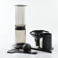 Portable Coffee Maker French Presses Coffee Percolato Air Press Espresso Machine Reusable Coffee Filter with 350Pcs Filter Paper