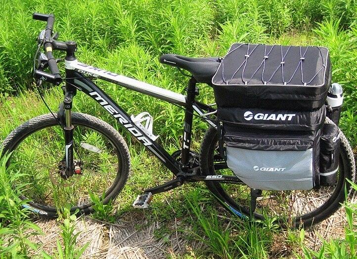 Giant Bicycle Pannier Bike Rear Seat Bag Cycling Saddle Bag Bike