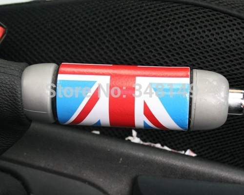 Aliauto Car-styling Car handbrake Sticker Stickers And Decal Accessories for BMW MINI COOPER