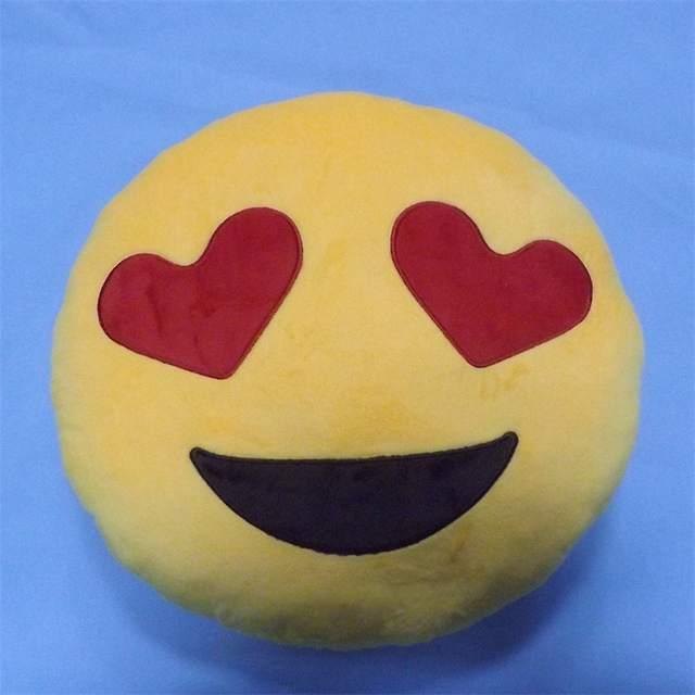 fb817537741 Online Shop 35cm Children's Plush Toys Round Soft Emoji Pillow Yellow Smile  Emoticon Cushion Stuffed Plush Toys Kids Big Emoji Smiley Pillow    Aliexpress ...