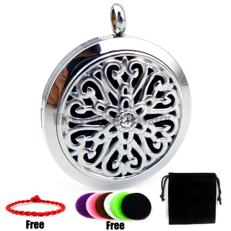Flower Design (30mm) Diffuser Palte Casting Perfume Stainless Steel Essential Oils Diffu ...