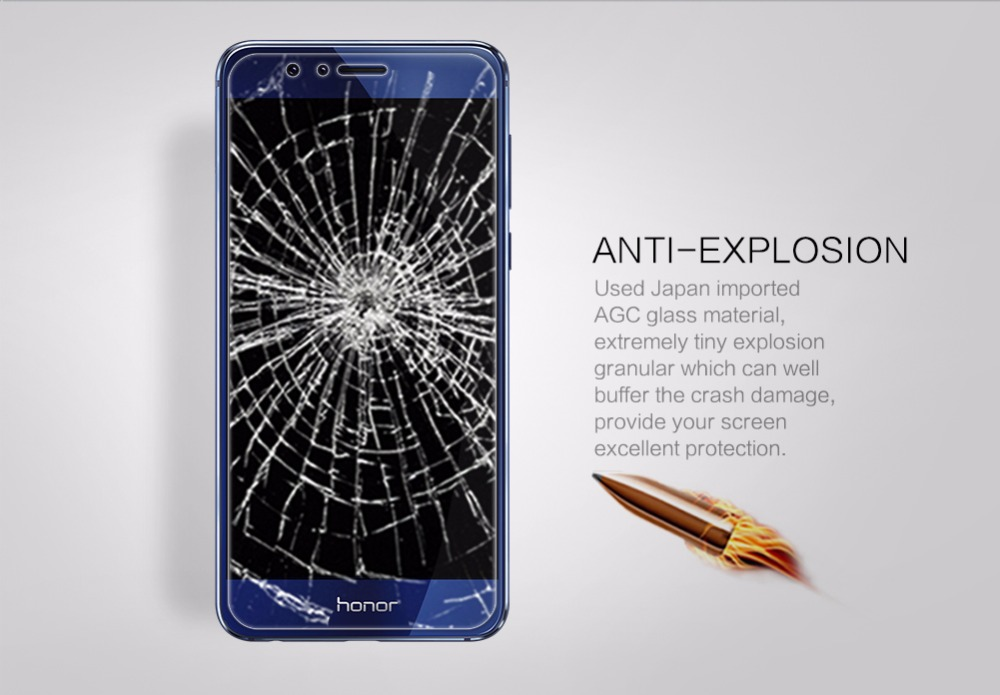 Huawei kehormatan 10 Nillkin 9 H menakjubkan H + Pro kaca tempered, - Aksesori dan suku cadang ponsel - Foto 5