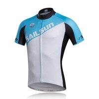 חם מפרש שמש גברים Pro רכיבה על אופניים ג 'רזי למעלה לבן הכחול חולצות קיץ בגדי ביגוד mtb אופני אופניים רכיבה על אופניים לנשימה מעילי
