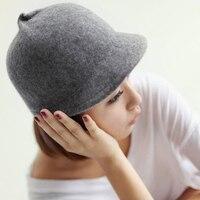 Japan Korea Fashion Wool Horse Riding Hats