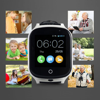 Latest 3G GPS Smart Watch GPS+WIFI+LBS GPS Tracker Touch Screen Positioning Device SOS Tracker for Kid Old Man Anti-Lost Monitor