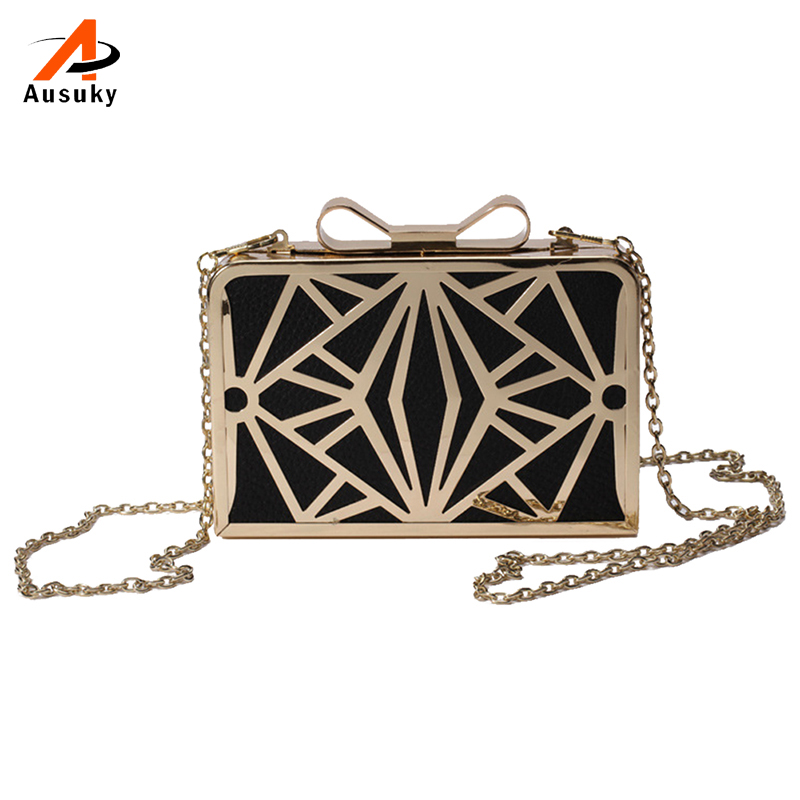Designer Famous Brand Women Handbags Metal Patchwork Shoulder Bags Ladies Print Day Clutch Wedding Party Evening Bags 40