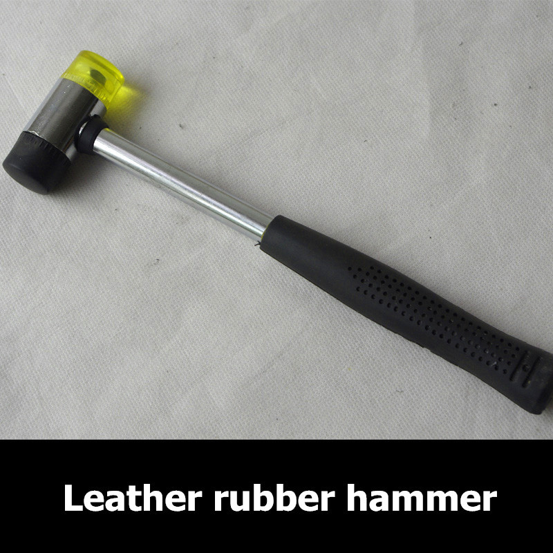 Rubber Mallet Mat Hammers Needle Art Leather Craft Hammer Mallet Leather Tool 6A