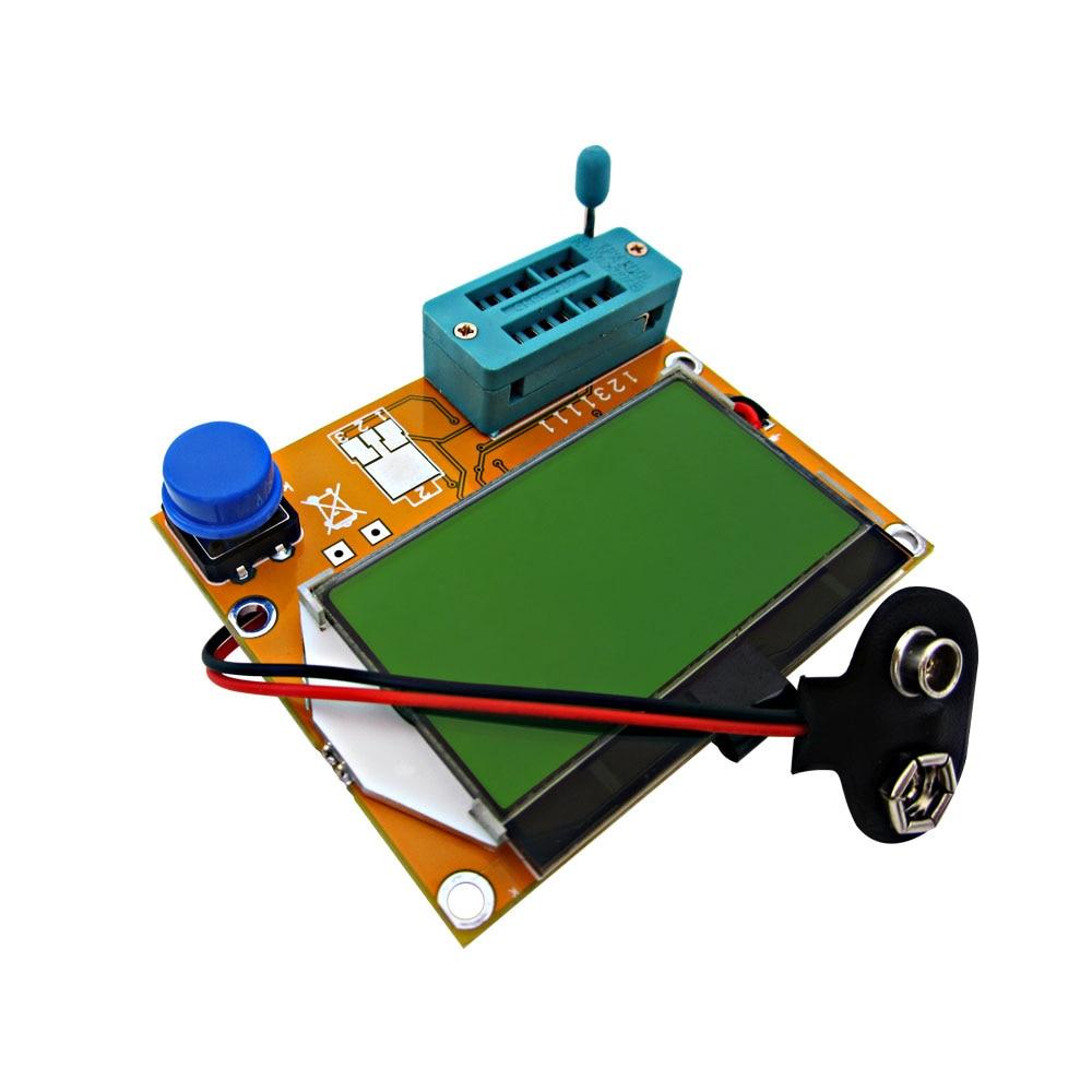 2016 Latest LCR-T4 ESR Meter Transistor Tester Diode Triode Capacitance Mos Mega328 Transistor Tester transistor ta49106