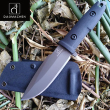 DAOMACHEN OUTDOOR Survival knife Hand hunting tools high hardness Full Tang straight knives essential tool for self-defense цены онлайн