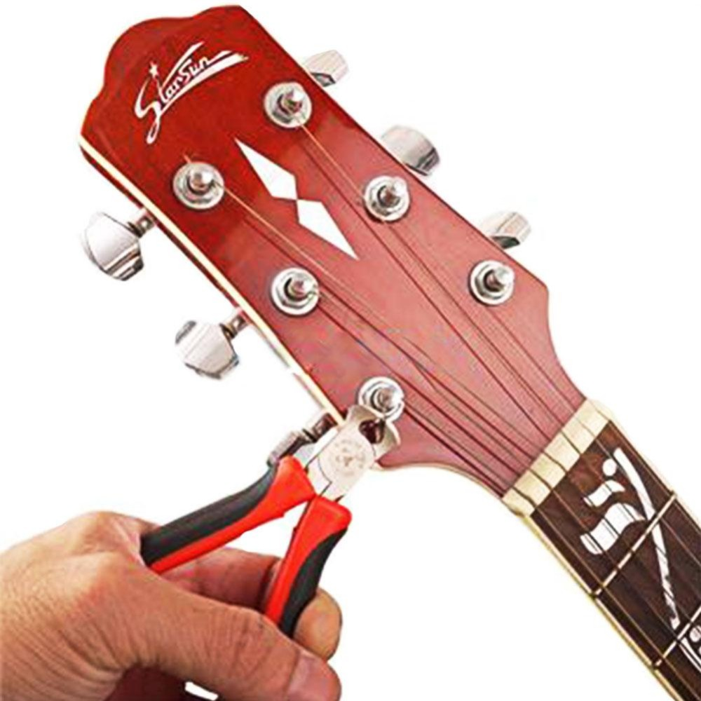 gitarre bass string cutter schere schneiden zange fret zangen