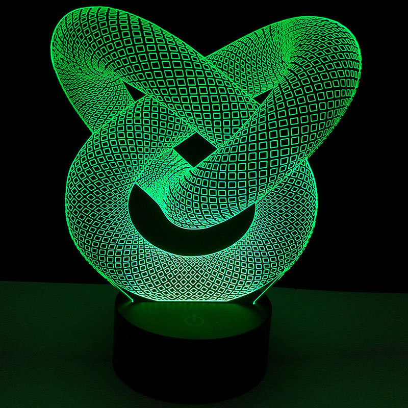 Bases da Lâmpada cabo usb toque lâmpada bases Bright Mode : Fixed Color or Colorful Gradient