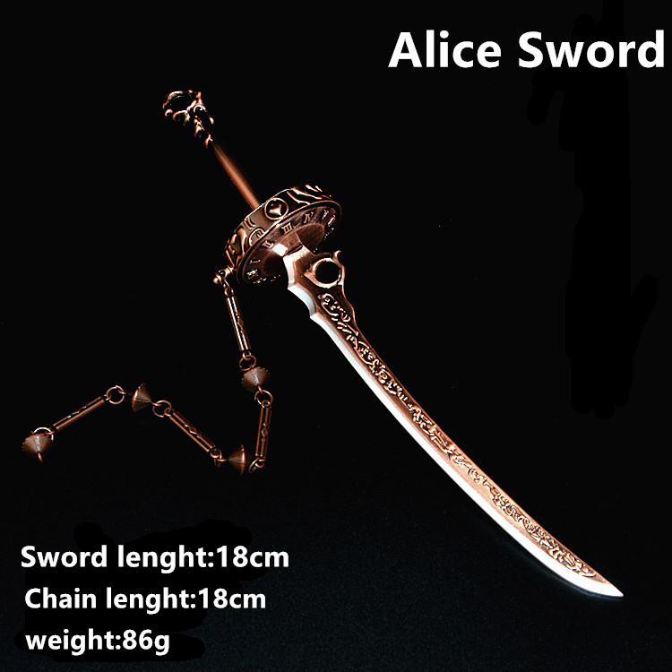 Style 5 SINO Alice18cm Sword pp bag, about 80g