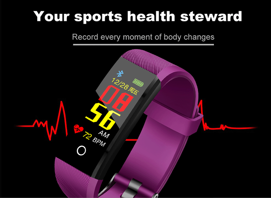 cardíaca banda inteligente esporte relógio
