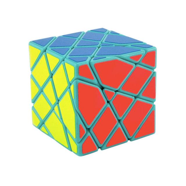 2016 MoYu AoSu Eje de Inclinación Cubo Mágico Speed Puzzle Cubos De Juguetes Para Los Niños