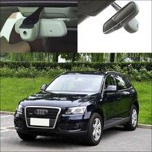 Discount! BigBigRoad For Audi Q7 2010 low configuration Car wifi DVR Driving Video Recorder Novatek 96655 Car black box Original Style