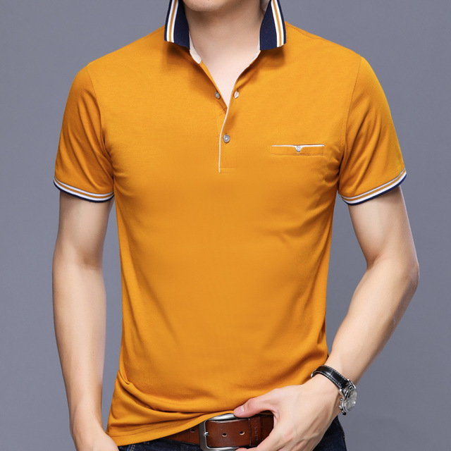 Best selling France brand eden park 2019 Summer Man Polo Shirts Cotton Short Sleeve Polos Trendy shirt for men Big size YP7176 1