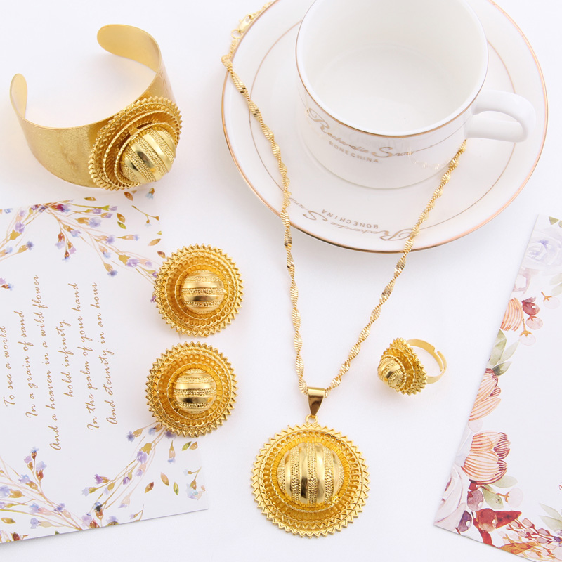 Shamty Νυφικά Σετ Αιθιοπικά Κοσμήματα - Κοσμήματα μόδας - Φωτογραφία 2