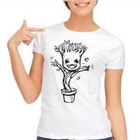Guardians Of Galaxy I Am GROOT T Shirt Cartoon Design T Shirt Cool Novelty Funny Tshirt