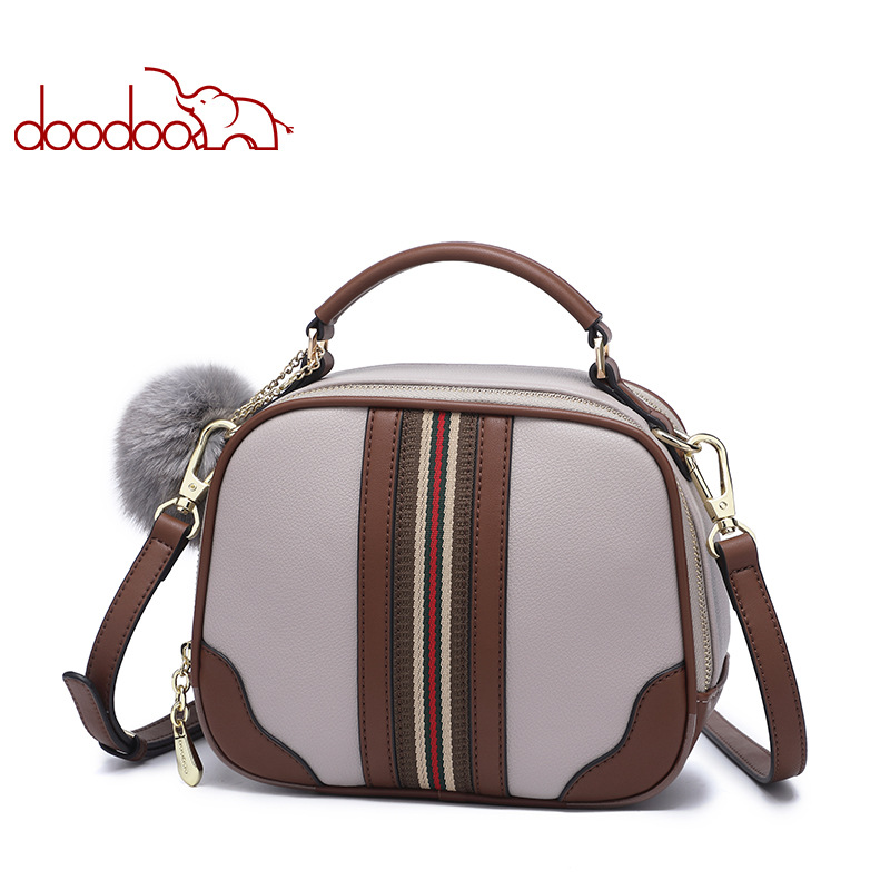 DooDoo Fashion Messenger Crossbody Bags for Ladies 2018 New Luxury Handbags Women Designer High Quality Womens Shoulder Bags 2018 business high quality women soft leather tote luxury designer ladies single shoulder bags crossbody bags womens handbags