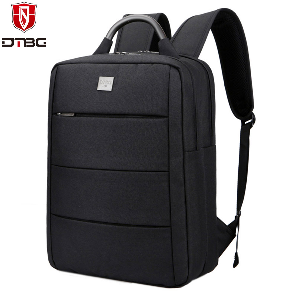 DTBG Backpack 15.6 inch Laptop Bag for Women Men Nylon Computer Backpacks for Apple Macbook Waterproof College School Travel Bag