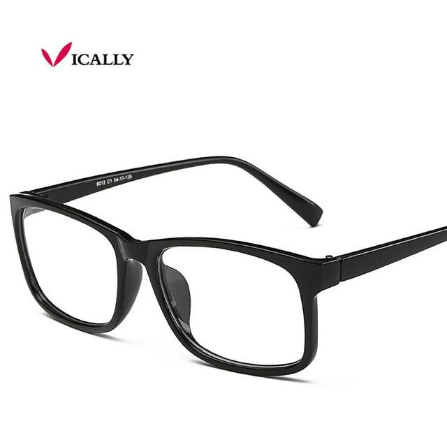 Fashion Glasses Frame Square Men Women Nerd Glasses Clear Lens Eyewear  Unisex Reading Eyeglasses Spectacles Frame oculos de grau 22ca7a146b