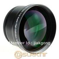 72mm 2.0x TELE Teleobiettivo per DSLR Fotocamera Digitale (72mm Lens Dimensioni Filettatura)