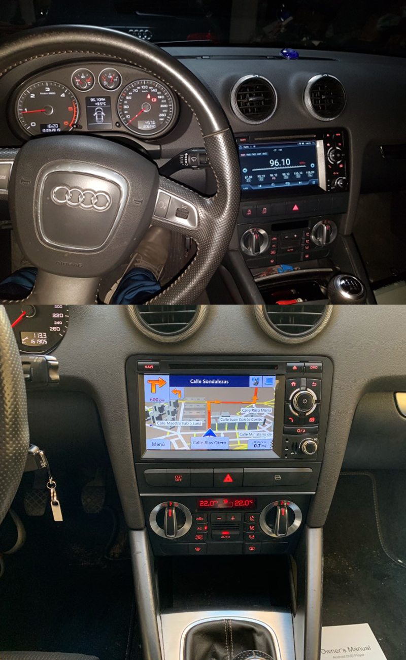 GPS S3 coche Bosion 15