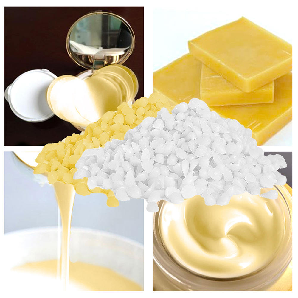 200g Food Grade Natural Beeswax Cosmetics Materials Grade Soap Making Lipstick Pure Natural Beeswax Leather Care Products