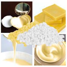 200g Food Grade Natural Beeswax Cosmetics Materials Grade Soap Making Lipstick P
