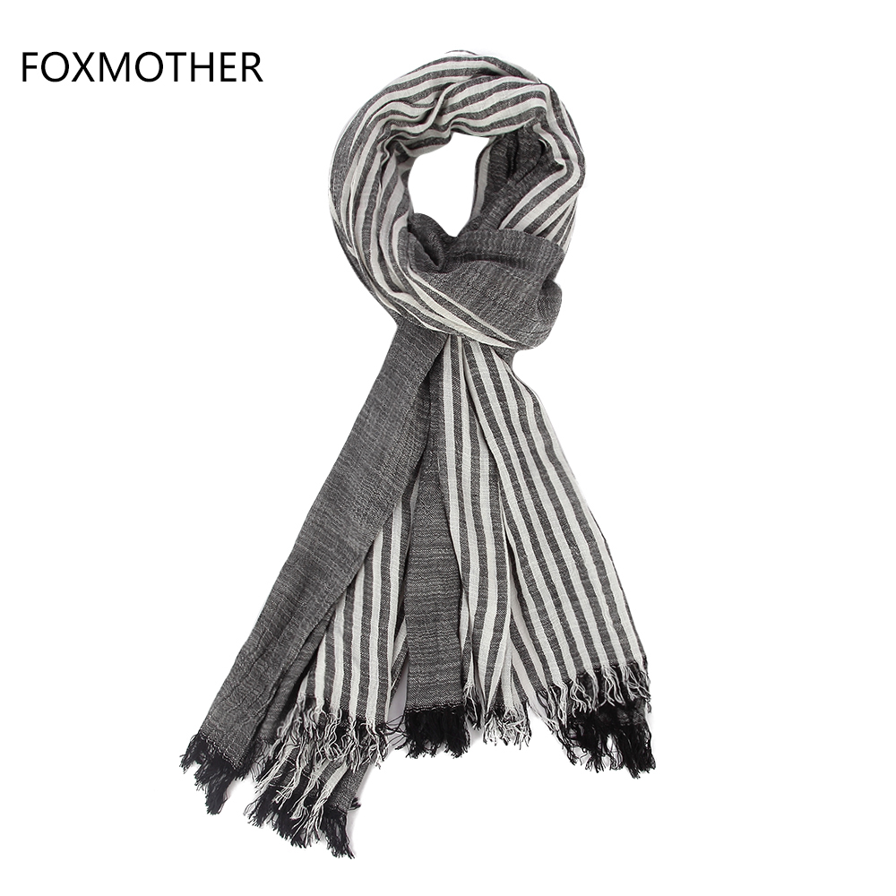 Black Scarf Men Promotion-Shop for Promotional Black Scarf Men on ...