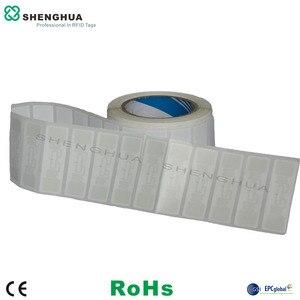 1000 шт./рулон RFID этикетка 860-960 МГц Gen 2 Смарт УВЧ пассивная RFID наклейка Alien 9662 h3 Чип антенна ценник для держателя сканера