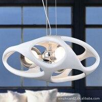Клетка Смола подвесные светильники для столовой Италия гнездо полые резные подвесные светильники для ресторанов подвесные светильники Со