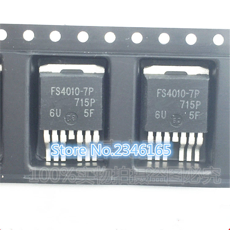 100PCS LOT IRFS4010 7P FS4010 7P TO263 MOS field effect N channel 190A 100V