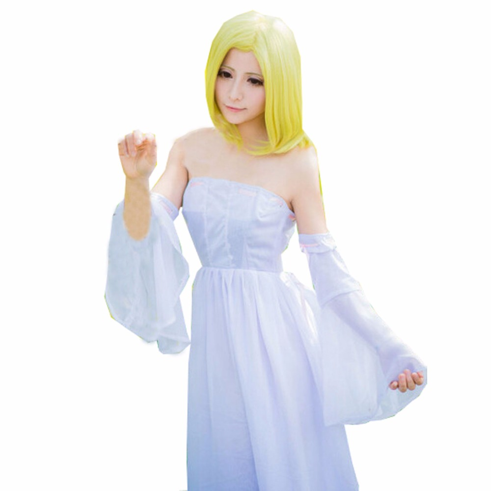 2018 Anime The Seven Deadly Sins Elaine Cosplay Costume Custom Made