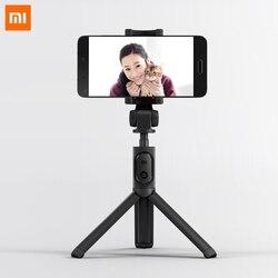 Оригинальный Xiaomi складной штатив монопод selfie Stick Bluetooth с Беспроводной кнопку затвора палка для селфи для IOS/Android/Xiaomi