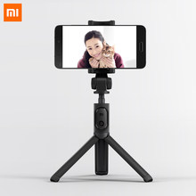 Original Xiaomi Faltbare Stativ Monopod Selfie Stick Bluetooth Mit Wireless-Taste Shutter Selfie Stick Für iOS/Android/Xiaomi(China)